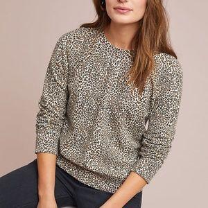 NWT Leopard Sweatshirt